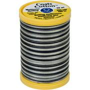 Cotton Machine Quilting Thread, Multicolor 225yd, Zebra