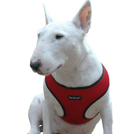 Dogs My Love Soft Mesh Walking Harness