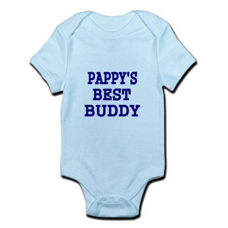 CafePress - PAPPYS BEST BUDDY Body Suit - Baby Light (Best Suit For Body Type)