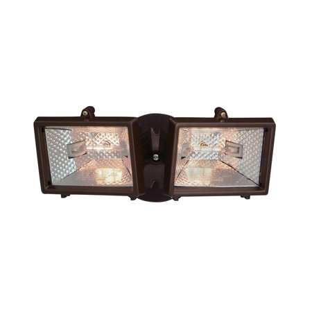Designers Fountain Q152-87  Quartz Halogen Security Light in Distressed Bronze - 06 Designers Fountain Security Lighting