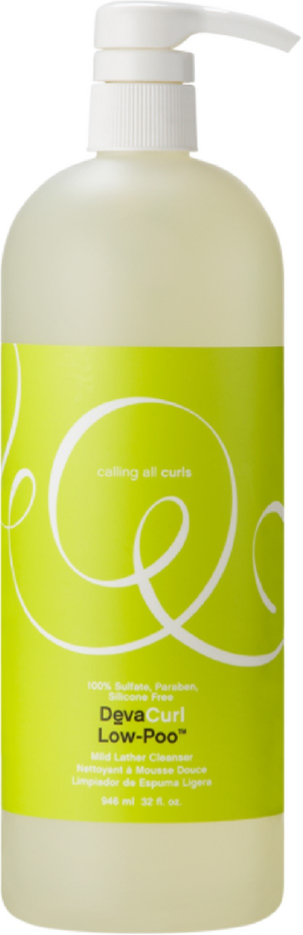 DevaCurl Low-Poo Original (Mild Lather Cleanser - For Curly Hair ...