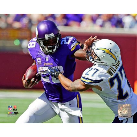 Adrian Peterson 2015 Action Photo Print Adrian Peterson Wall Graphic