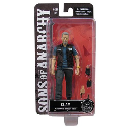 Sons Of Anarchy Clay Morrow Samcro 6   Action Figure Toy New