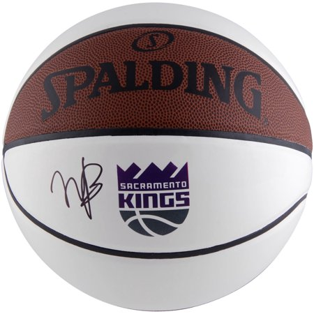 - Marvin Bagley III Sacramento Kings Autographed Logo White Panel Basketball - Fanatics Authentic Certified