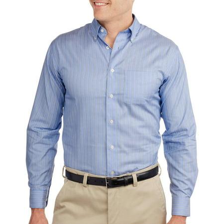 Men 39 s long sleeve no iron dress shirt for No iron dress shirts for men