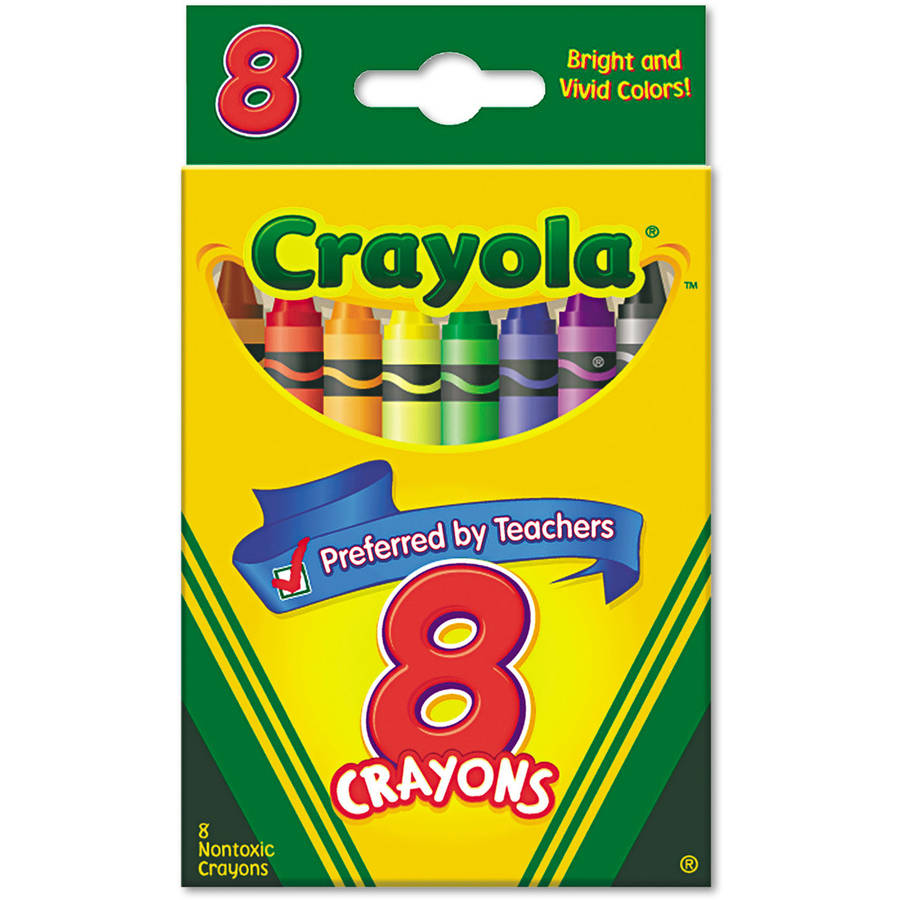 Crayola Classic Color Pack Box of Crayons, 8 Colors