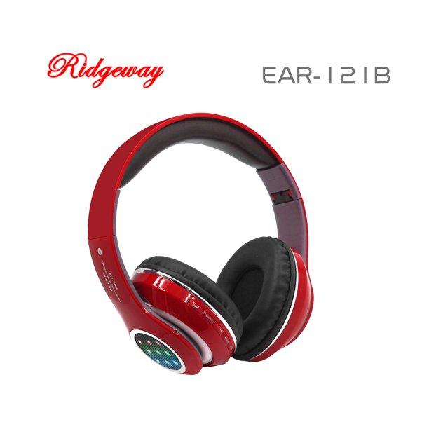 Ridgeway Ear 121b Red Wireless Bluetooth Headphones 4 2v Bluetooth 2 0 Usb Tf Card Fm Radio Rechargeable Headphones With 500 Mah Lithium Battery 4 Colors Red Blue White Black Walmart Com Walmart Com