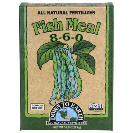 Fish Meals - Down To Earth Fish Meal - 5 lb (6/Cs)