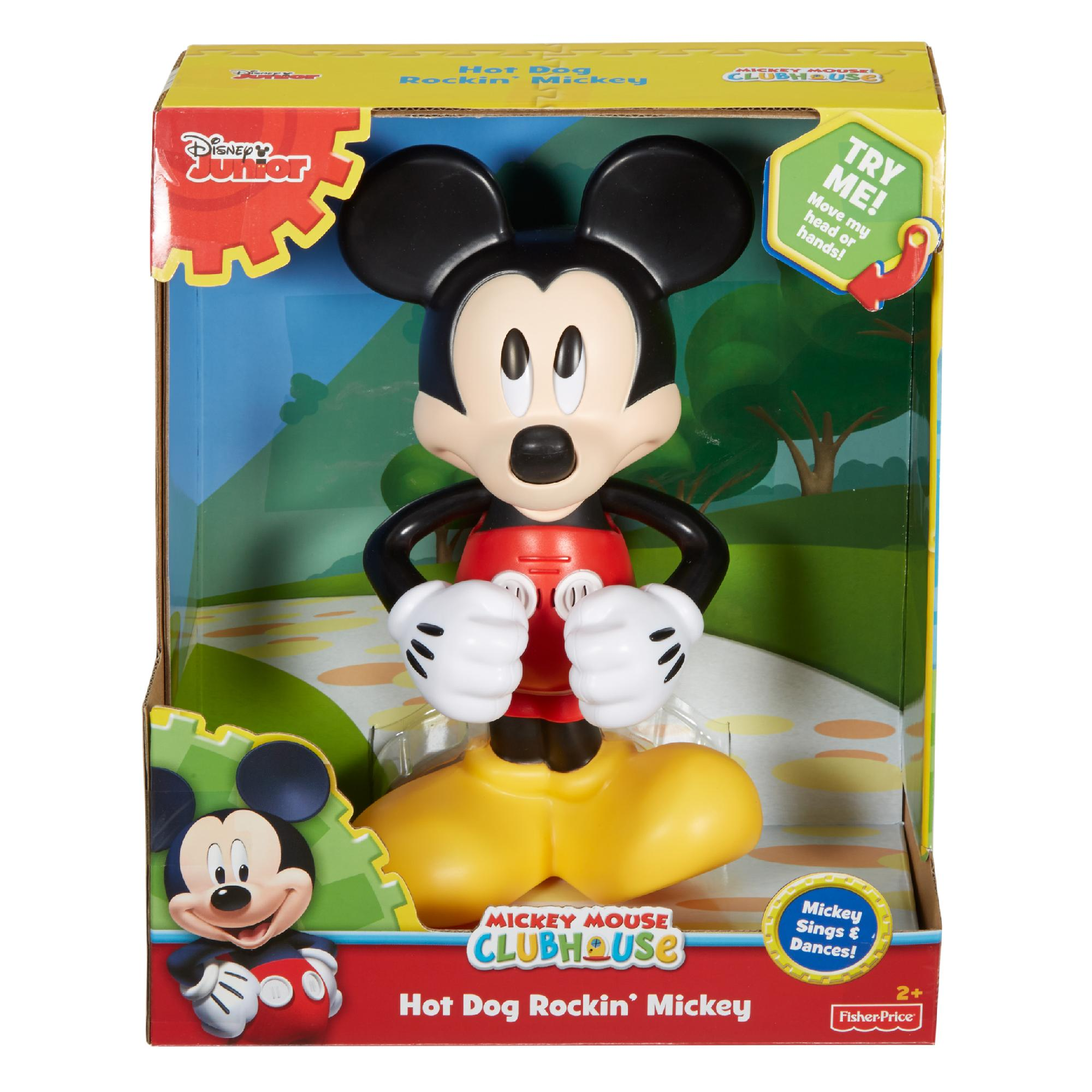 Disney Mickey Mouse Clubhouse Hot Dog Rockin Mickey Walmart