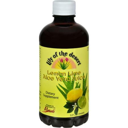 Lily of the Desert Aloe Vera Juice Lemon Lime - 32 fl oz