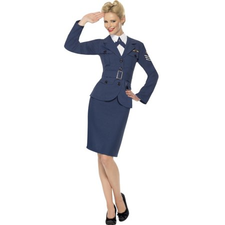 Ladies World War 2 Costumes (Adult World War 2 Air Force Female Captain)