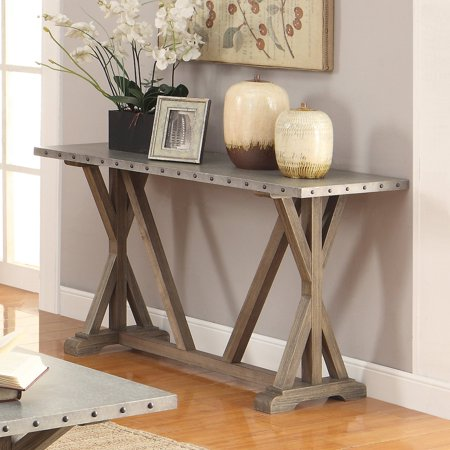 Coaster 703749 Home Furnishings Sofa Table, Driftwood ()