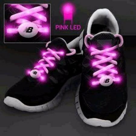 LED Shoelaces Pink - Led Shoelaces