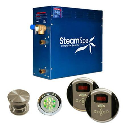 Steamspa Ry900 Royal 9 Kw Steam Generator Package - Nickel