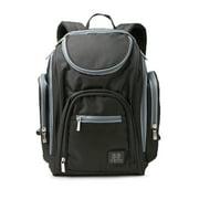 Baby Boom Adjustable Shoulder Strap Backpack Diaper Bags, Black