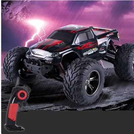 2.4Ghz 1:12 2WD 35 RC Cars Rock Off-Road + MPH High Speed Remote Controll Fast Race Buggy Hobby Car For Children Gift,Red (Gas Rc Cars Fast 100 Mph)