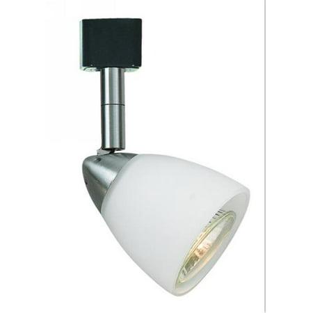 120v Spot Trim (Cal Lighting JT-954-DB-BRNS Track Head - Gu10, 120V, 50W - Dark Bronze & Brown)