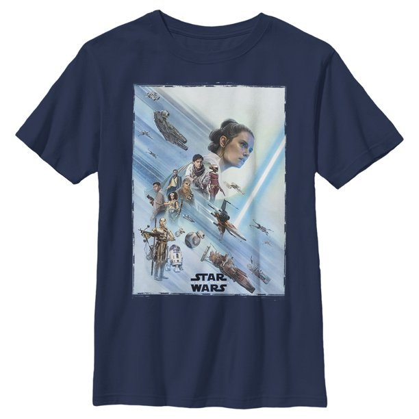 Star Wars: The Rise of Skywalker Boys' Rey Poster T-Shirt