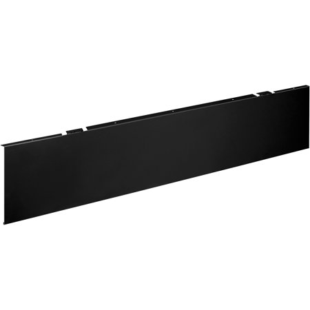- HON, HONMTUMOD4P, Universal Modesty Panel, 1 Each, Black