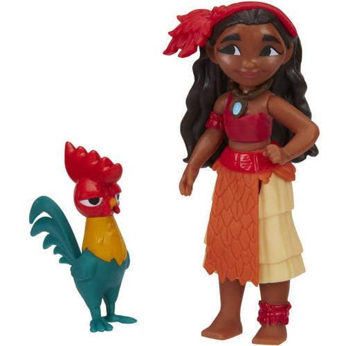 Disney Moana Moana of Oceania and Hei Hei by Hasbro