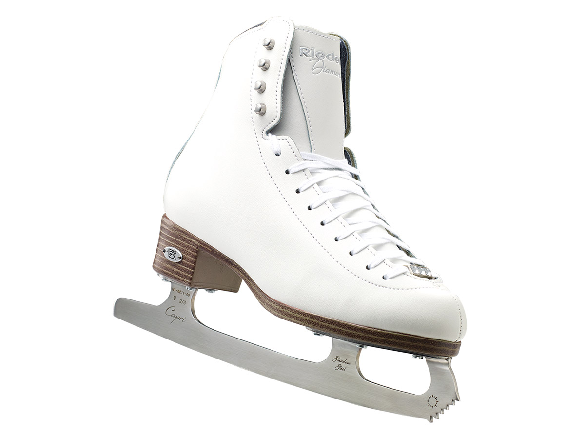 Riedell Ice Skates 33 Diamond Girls Shoes w  Capri Blade by