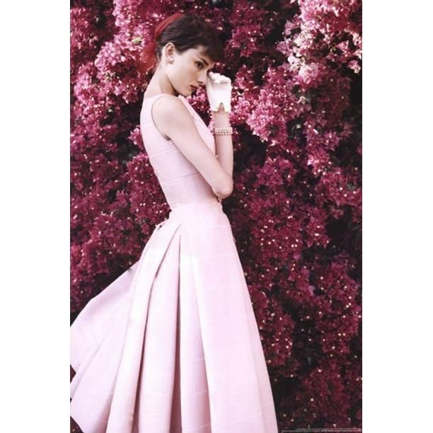 Audrey Hepburn Dress Poster Print 24 X 36 Walmart Com Walmart Com