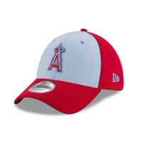 61bee83b56007 Product Image Los Angeles Angels New Era 2018 Father s Day 39THIRTY Flex Hat  - Light Blue