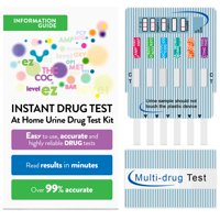 (1 Pack) EZ Level 12 Panel Urine Drug Dip Test Multi-Drug Testing Kit