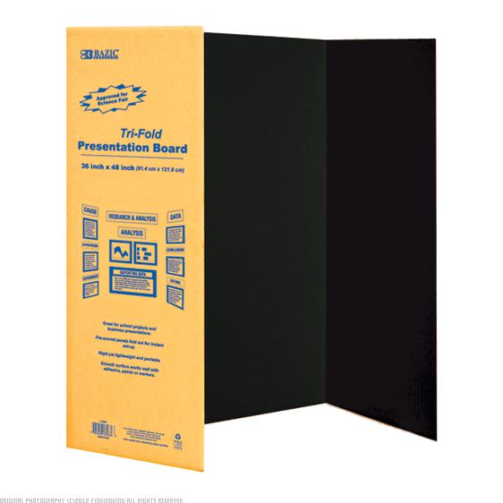 Bazic Corrugated Presentation Board (Set of 24)