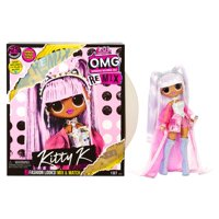 L.O.L. Surprise! O.M.G. Remix Kitty K Fashion Doll  25 Surprises with Music