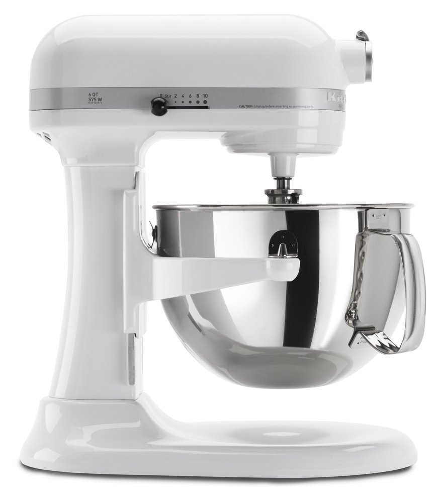 Kitchenaid Rkp26m1xwh 6 Qt Professional 600 Series Bowl Lift Stand Mixer White Certified Refurbished