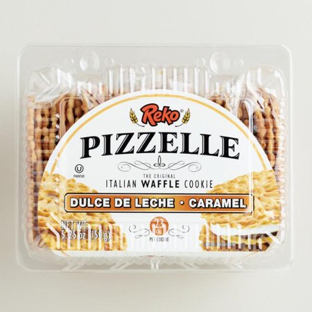 Reko Dulce De Leche Pizzelle Cookies (Pack of 1)