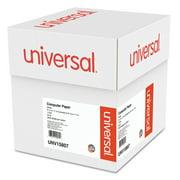 Universal Printout Paper, 1-Part, 20lb, 9.5 x 11, White, 2, 300/Carton -UNV15807