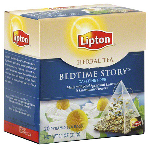 Lipton Bedtime Story Herbal Tea, 20ct (Pack of 6)