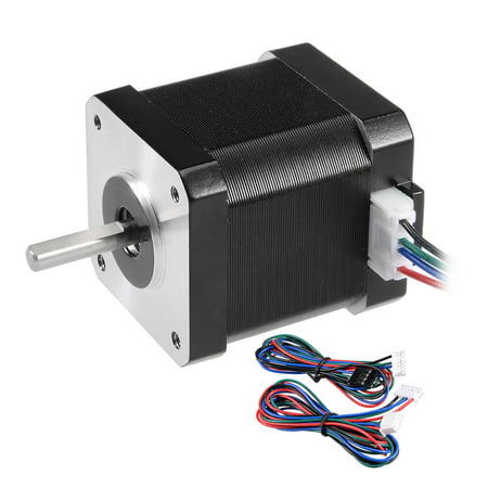 Stepper Motor 42 Bipolar 20mm/10mm 0 56NM 1 5A DC2 5V 4 Lead Cable f 3D  Printer | Walmart Canada