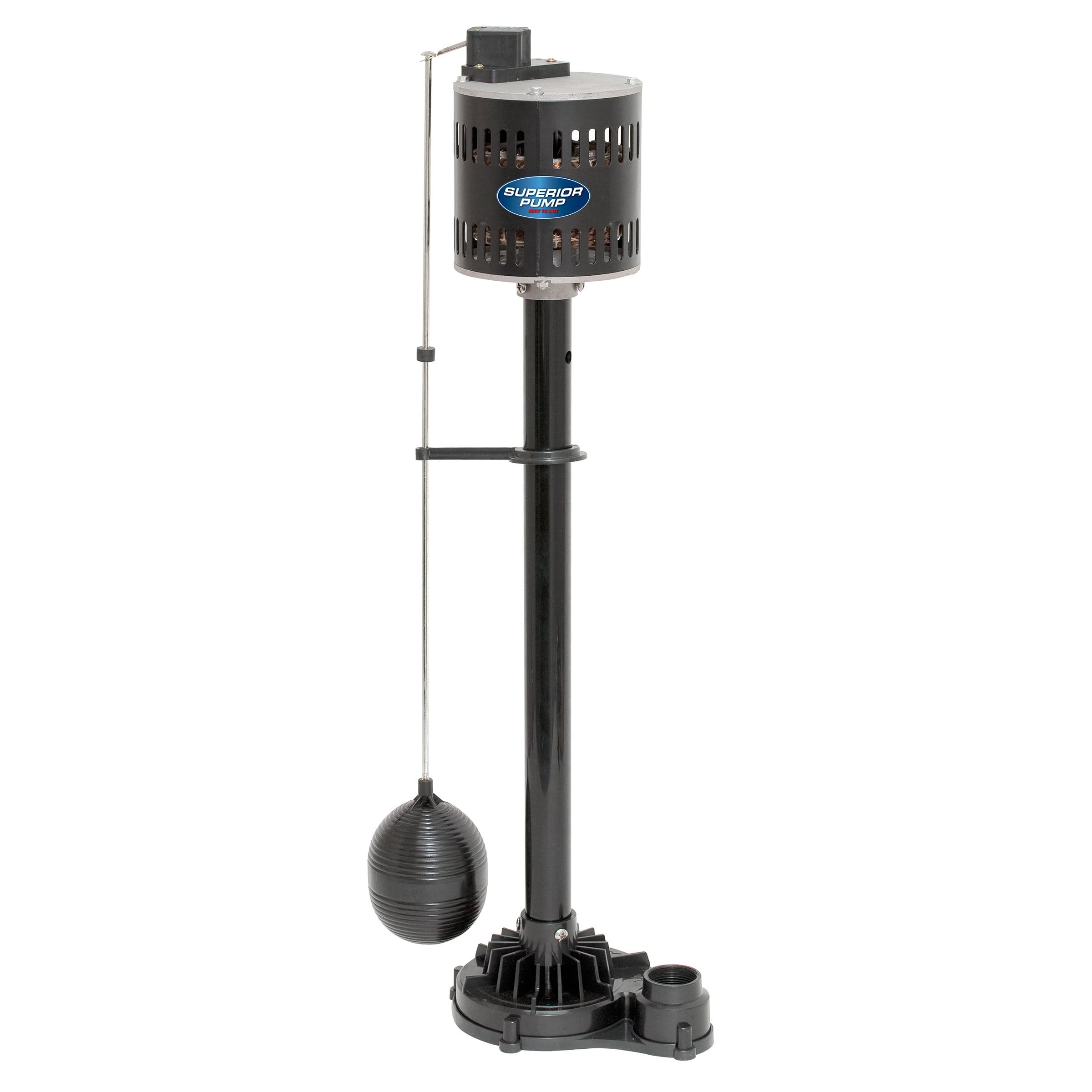 Superior Pump 1/3 HP Pedestal Sump Pump