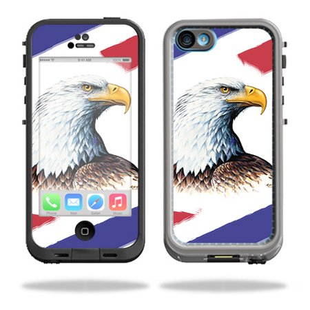 Eagle Head Decal (Skin For LifeProof iPhone 5C Fre Case – Eagle Head | MightySkins Protective, Durable, and Unique Vinyl Decal wrap cover | Easy To Apply, Remove, and Change Styles | Made)