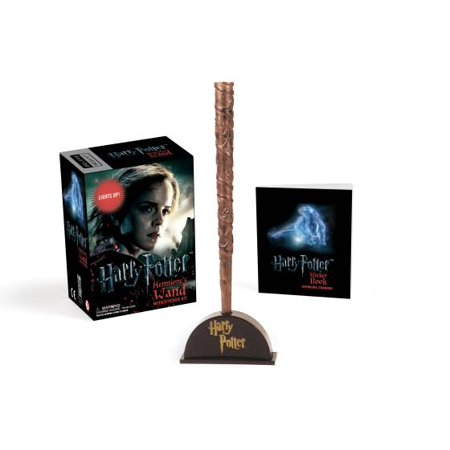 Harry Potter Hermione's Wand with Sticker Kit: Lights Up! - Cheap Harry Potter Wand