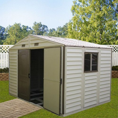 Duramax Woodside Vinyl Shed - 8 x 6 ft.