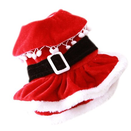 Mosunx Puppy Pets Clothing Christmas New Year Decoration Dog Spring Winter Clothes - Pet Christmas Clothes