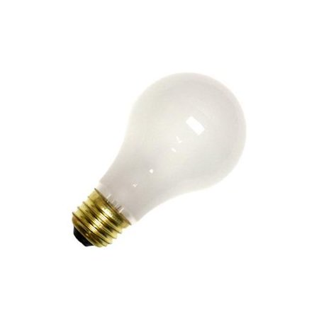 75W 130V A19 Incandescent Medium Base Frosted Rough (Base Rough)