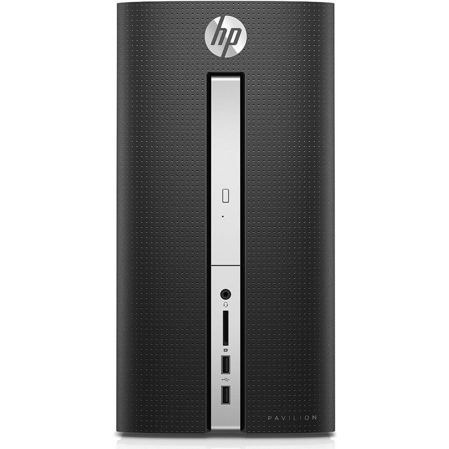 Refurbished HP Pavilion 510-P030 MT Desktop PC with Intel Core i7-6700T Processor, 12GB Memory, 1TB Hard Drive... by HP