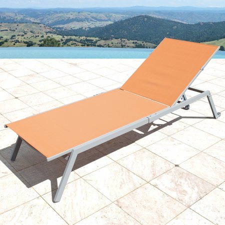 Corvus  Torino Adjustable Sling Fabric Patio Chaise Lounge ()