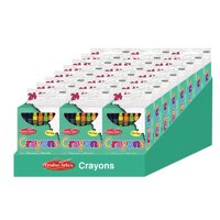 Creative Arts™ Crayons - Assorted Colors - 24/Bx, 24 boxes with a Shelf Tray
