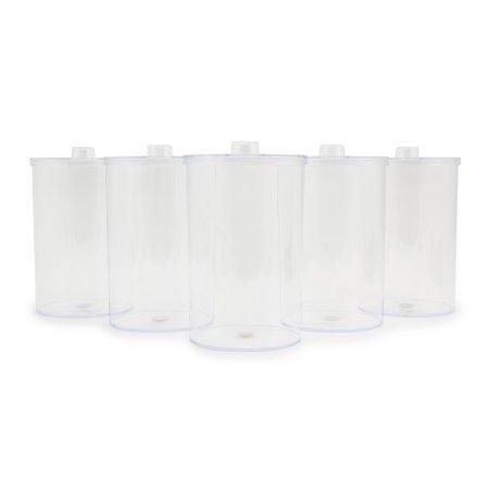 Sundry Jar, McKesson, 4.25 X 6.5 Inch, Plastic, Clear, Case of