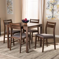 Baxton Studio Lovy Modern and Contemporary 5 Piece Wood Dining Set