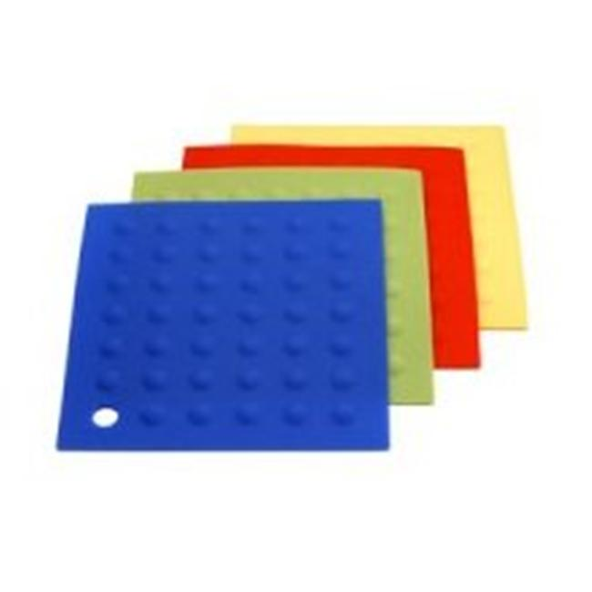 MIU France 99090 Silicone Potholders - Set Of 4 In Assorted Colors