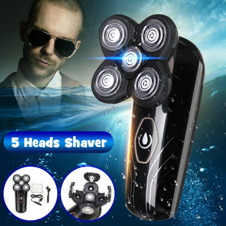 Electric Shaver for Men, Electric Shaver, Rechargeable WaterProof Wet & Dry Shaver Precision Trimmers for Beard Shaving and Trimming,4D USB Beard Clipper Cutter