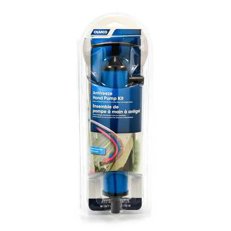 Camco Antifreeze Hand Pump Kit- Pumps Antifreeze Directly Into the RV Waterlines and Supply Tanks, Makes Winterizing Simple and Easier (36003) ()