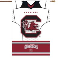 "South Carolina Gamecocks 29"" x 43"" Double-Sided Jersey Foil House Flag - No Size"